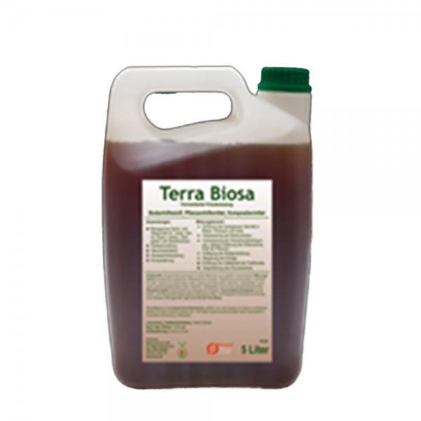 Terra Biosa 5 L Bodenhilfsstoff, Pflanzenhilfsmittel, Kompostiermittel