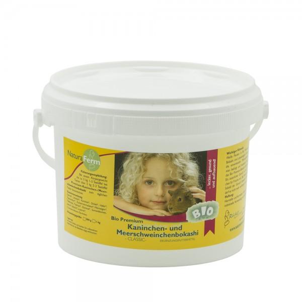 Bio Premium 1 Kg Kaninchen- und Meerschweinchenbokashi